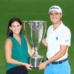 Justin Thomas with girlfriend Jillian Wisniewski image
