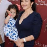 Lauren Sanchez with daughter Eleanor Patricia Whitesell