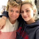 Lili Reinhart with mother Amy Reinhart