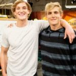 Logan Paul with younger brother Jake Paul