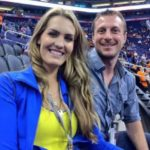 Max Scherzer with wife Erica May