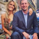 Max Scherzer with wife Erica May image