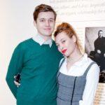 Nick Robinson with girlfriend Samantha Urbani