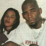 R Kelly with former wife Aaliyah