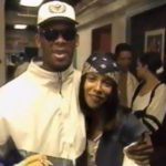 R Kelly with former wife Aaliyah image