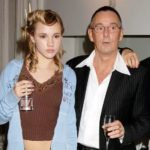 Suki Waterhouse with father Norman Waterhouse