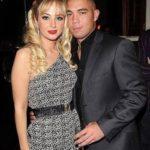 Tulisa Contostavlos and ex-boyfriend Justin Edwards