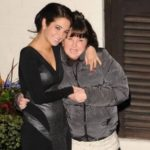Tulisa Contostavlos with mother Anne Byrne