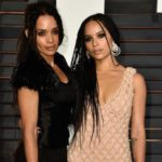 Zoe Kravitz with mother Lisa Bonet