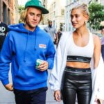 hailey Baldwin with husband Justin Bieber