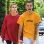 hailey Baldwin with husband Justin Bieber image