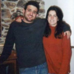 Abbi Jacobson and her brother Brian Jacobson