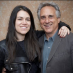 Abbi Jacobson and her father Alan Jacobson