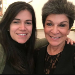 Abbi Jacobson and her mother Susan Komm