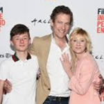 Anne Heche and her Son Homer Laffoon and husband