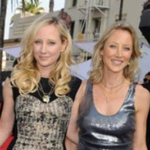 Anne Heche and her sister Abigail Heche