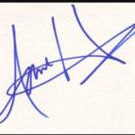 Anne Heche signature