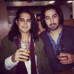 Avan Jogia with brother Ketan Jogia