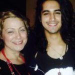 Avan Jogia with mother Wendy Jogia