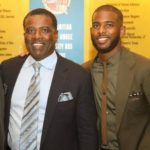 Chris Paul with father Charles Paul