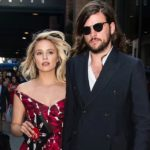 Dianna Agron with husband Winston Marshall
