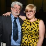George Lucas with daughter Katie Lucas
