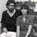 George Lucas with first wife Marcia Lucas