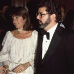 George Lucas with first wife Marcia Lucas image