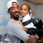 JR Smith with daughter Demi Smith