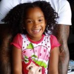 JR Smith with daughter Peyton Smith