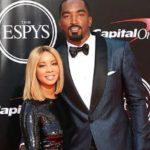 JR Smith with wife Jewel Harris