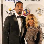 JR Smith with wife Jewel Harris image