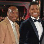 John Boyega with father Samson Boyega