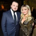 John Bradley with girlfriend Rebecca April May