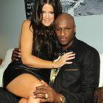 Khloe Kardashian with husband Lamar Odom image