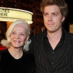 Kyle Eastwood with mother Maggie Johnson