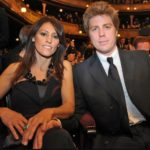 Kyle Eastwood with wife Cynthia Ramirez image