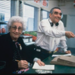 Martin Scorsese and his mother Catherine Scorsese