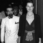 Martin Scorsese and his wife Isabella Rossellini