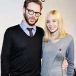 Sean Parker with wife Alexandra Lenas image