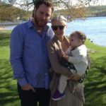 Sean Parker with wife and daughter Winter Victoria Parker