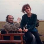 Stanley Kubrick and his daughter Vivian Kubrick