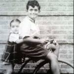 Stanley Kubrick and his sister Barbara Kubrick