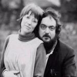 Stanley Kubrick and his wife Christiane Kubrick