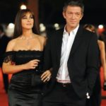 Vincent Cassel with ex-wife Monica Bellucci