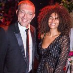Vincent Cassel with wife Tina Kunakey