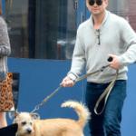 christian slater and his pet dog
