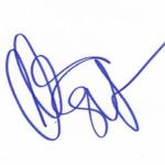 christian slater Signature