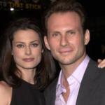 christian slater and his wife Ryan Haddon