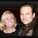 christian slater and his mother Mary Jo Slater